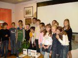С.Глезеров с учениками из 554 лицея